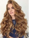 Pretty Wavy Synthetic Hair Attractive Lace Front Wig