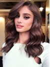Wavy Lace Front Gorgeous Synthetic African American Wig