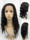 Brown Long Fashionable Wavy Layered Lace Wigs amad056