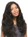 Human Hair Full Lace Wigs Long Length Wavy Style Wigs amad059
