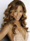 Beyonce Lace Front Brown Color Long Length Wavy Style Wigs amae019