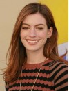 Auburn Long Straight Without Bangs Anne Hathaway Wigs amae092