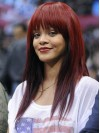 Cheapest Long Red Straight Capless Rihanna Wigs amae121