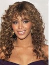 Long Curly Layered Capless Top Beyonce Wigs amae123