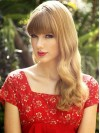 Long Blonde Modern Taylor Swift Wigs amae138