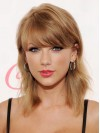 Wavy Shoulder Length Blonde Beautiful Taylor Swift Wigs amae157