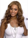 Beyonce Long Water Wave Lace Front Remy Human Hair Wigs amae167