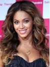 Beyonce Long Water Wave Lace Front Remy Human Hair Wigs amae168