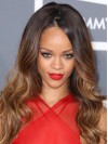 Rihanna Extra Long Water Wave Lace Front Remy Human Hair Wigs amae180