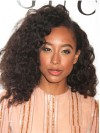 Corinne Bailey Rae Shoulder Length Deep Curly Lace Front Wigs amae204
