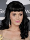 Katy Perry Long Water Wave Capless Remy Human Hair Wigs amae229
