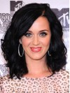 Katy Perry Shoulder Length Water Wave Full Lace Remy Human Hair Wigs amae231