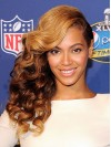 Beyonce Long Water Wave Lace Front Synthetic Wigs amae238