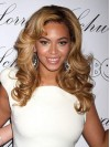 Beyonce Long Water Wave Lace Front Synthetic Wigs amae239