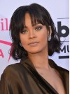 Rihanna Short Straight Capless Synthetic Wigs amae244