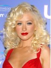 Christina Aguilera Long Water Wave Lace Front Synthetic Wigs amae257