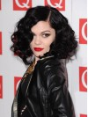 Jessie J Shoulder Length Water Wave Lace Front Synthetic Wigs amae266