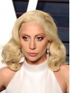 Lady Gaga Shoulder Length Water Wave Lace Front Synthetic Wigs amae270