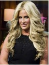 Hairstyles Without Bangs Long Body Wave Kim Zolciak Wigs amaep006