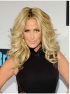 Soft Without Bangs Curly Kim Zolciak Wigs amaep013