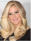 Durable Without Bangs Wavy Kim Zolciak Wigs amaep014