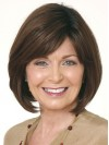 Bob With Capless Straight Style Brown Color Wigs amag012