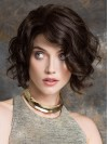 Black Bob Short Capless Hand Tied Wigs amag017