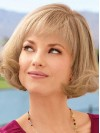 Short Straight Blonde Comfortable Bob Wigs amag024