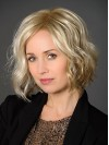 Wavy Blonde Synthetic Short Lace Front Bob Style Wig amag035