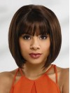 2017 Newest Design Synthetic Bob Cut Wigs With Full Bangs amag052