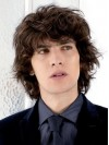Handsome Gent Hairstyle Chin Length Wave Top Mens Wigs amam028