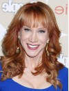 Kathy Griffin Feminine Long Curly Hairstyle Wig wwa1804008