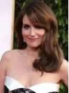 Tina Fey Long Hairstyle With Bangs Human Hair Wig wwa1804010