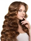 New Style Human Hair Wavy Lace Front Wig wwa1804015