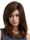 Natural Straight Brown Color Capless Wigs wwa1804030